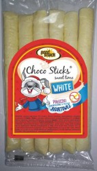 CHOCO STICKS WHITE 60g