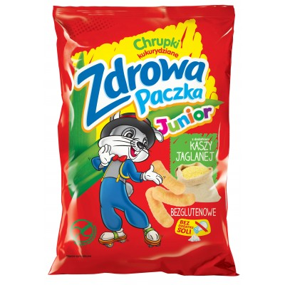 ZDROWA PACZKA JUNIOR - CRISPS WITH MILLET GROAT 45g