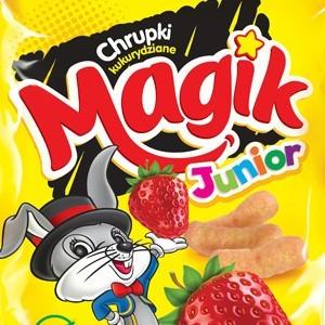 Flavoured Corn Crisps (Puffs) Magik Junior